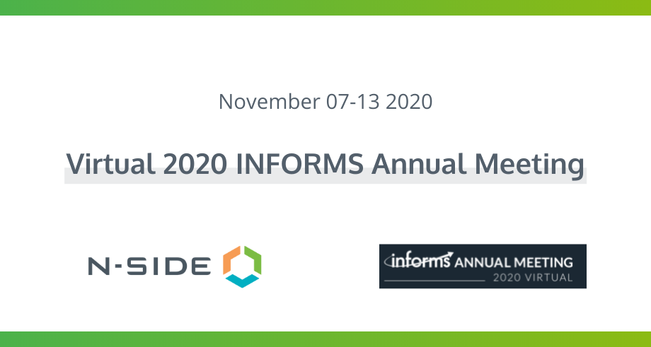 INFORMS 2020: Market Design and Algorithm for TSO / DSO Coordination of Congestion Management
